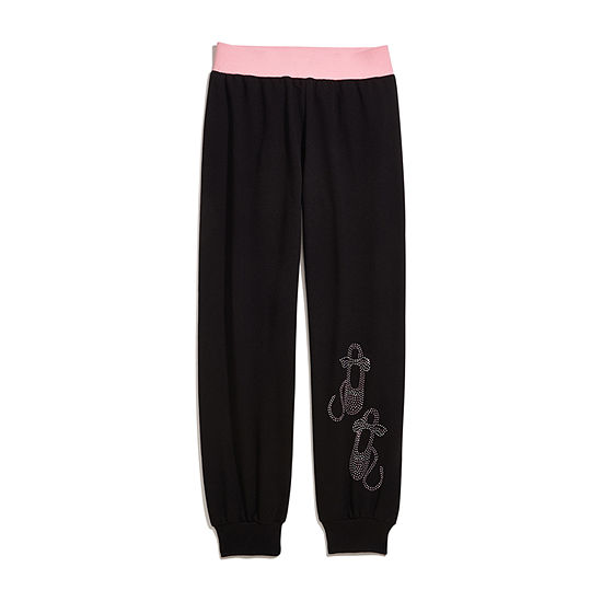Jacques Moret Dance Girls Ankle Jogger Pant - Big Kid