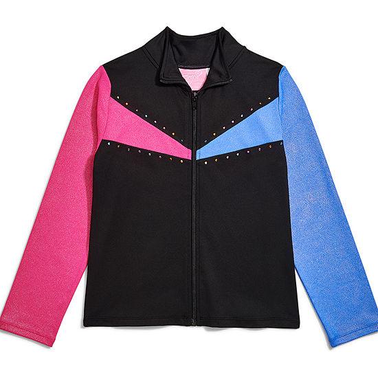 Jojo Siwa Lightweight Softshell Jacket-Big Kid Girls
