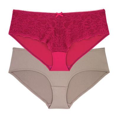 Dorina Quinn 2 Pair Microfiber Brief Panty D01189x