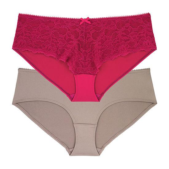 Dorina Quinn 2 Pack Microfiber Brief Panty D01189x
