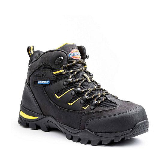 Dickies Mens Sierra Flat Heel Lace-up Work Boots