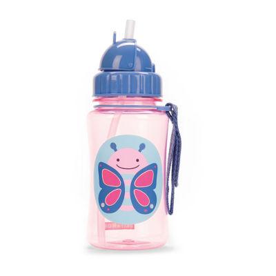 Skip Hop Zoo Straw Bottle-Butterfly 1 Bottle Sippy Cups
