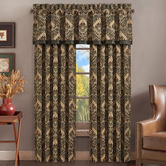 Queen Street Tacoma Rod-Pocket Curtain Panel