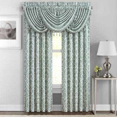 Queen Street Luther 2-Pair Rod-Pocket Curtain Panels