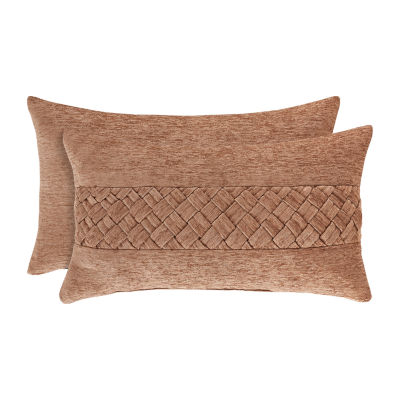 Queen Street Sussex Coral Rectangular Throw Pillow