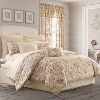 Queen Street Simone 4-pc. Midweight Comforter Set