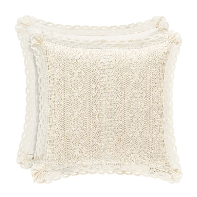 Queen Street Simone 18 Inch Square Throw Pillow