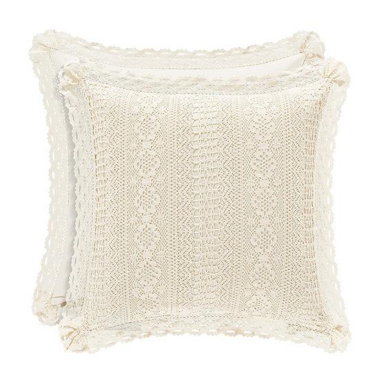 Queen Street Simone 18 Inch Square Throw Pillow