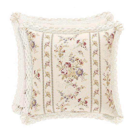 Queen Street Simone 20 Inch Square Throw Pillow