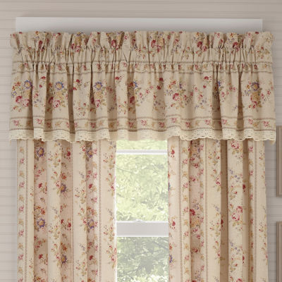 Queen Street Simone Rod-Pocket Straight Valance