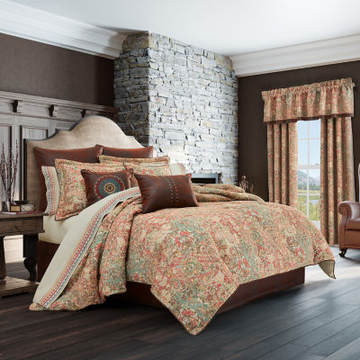 Queen Street Kemble 4-pc. Heavyweight Comforter Set
