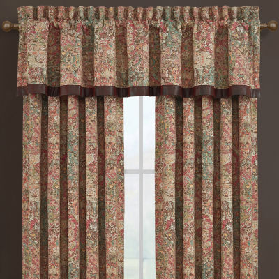 Queen Street Kemble Rod-Pocket Tailored Valance