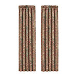 Queen Street Kemble Rod-Pocket Curtain Panel