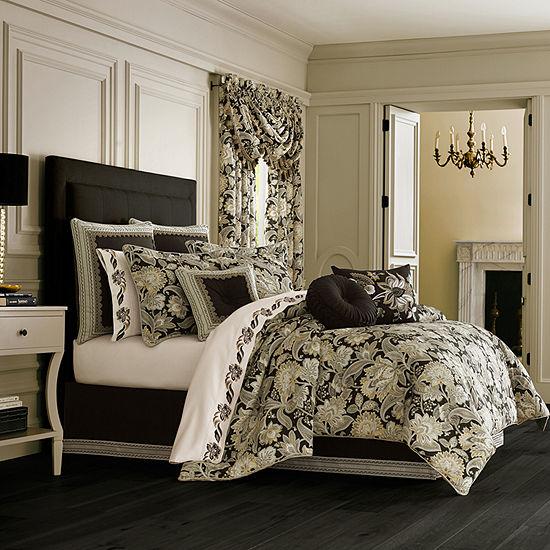 Queen Street Maddock 4-pc. Floral Heavyweight Comforter Set