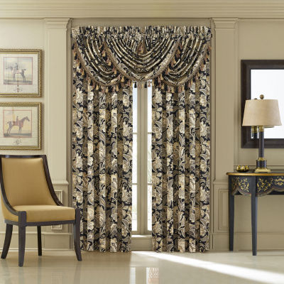 Queen Street Maddock 2 Pair Rod-Pocket Curtain Panels