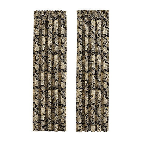 Queen Street Maddock 2 Pair Rod Pocket Curtain Panels