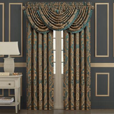 Queen Street Modesto Light-Filtering Rod-Pocket Curtain Panel