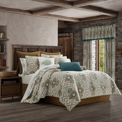 Queen Street Plainview 4-pc. Heavyweight Comforter Set