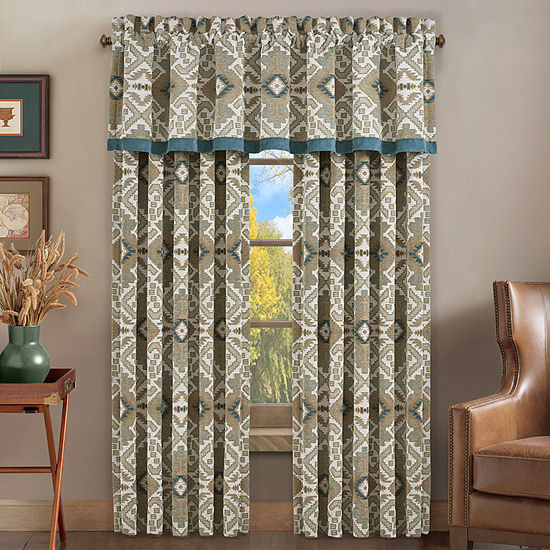 Queen Street Plainview Rod-Pocket Curtain Panel