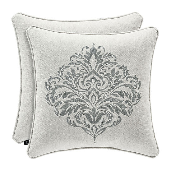 Queen Street Plymouth Square Throw Pillow