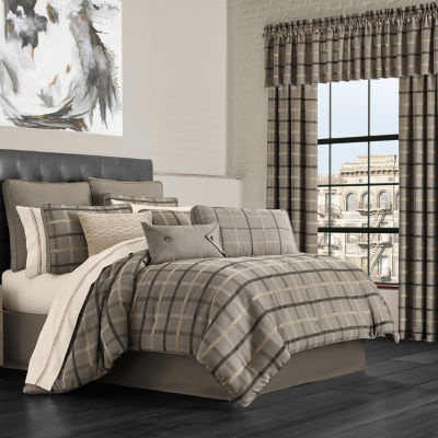 Queen Street Soho 4-pc. Heavyweight Comforter Set