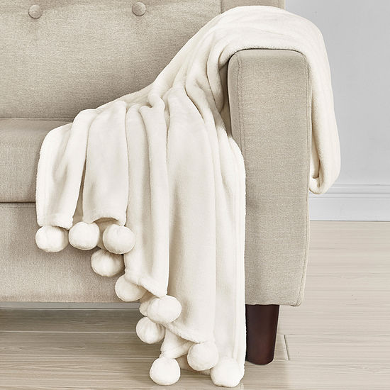 Queen Street Paula 60x50 Microfiber Plush Throw