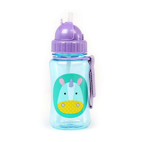 Skip Hop Zoo Straw Bottle-Unicorn 1 Bottle Sippy Cups