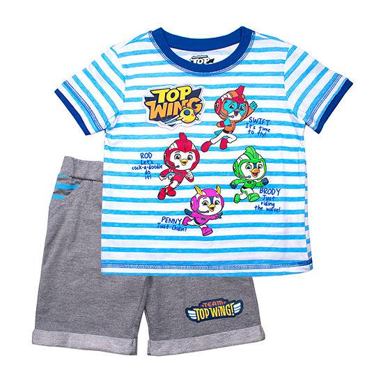 Nickelodeon Top Wing Toddler Boys 2-pc. Short Set
