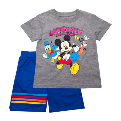 Disney 2-pc. Mickey and Friends Short Set Toddler Boys
