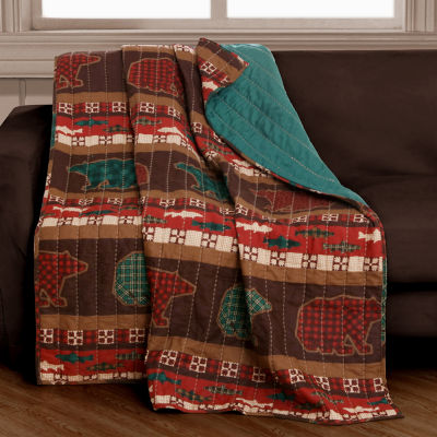 Greenland Home Fashions Canyon Creek Reversible Midweight Throw