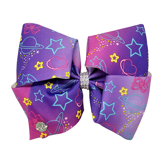 JoJo Siwa Ombre Bow With Moon And Star Print