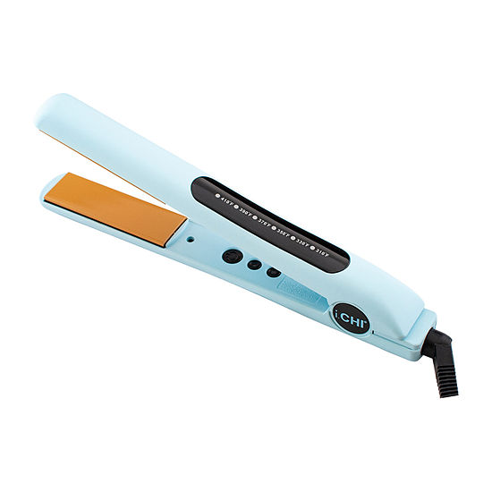 "CHI Sky Blue 1"" Ceramic Flat Iron"