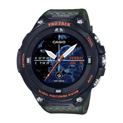 Casio Pro Trek Unisex Green Smart Watch-Wsd-F20a-Gnbau
