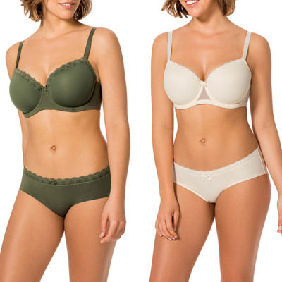Dorina Rita 2-Pack T-Shirt Full Coverage Bra-D00085x