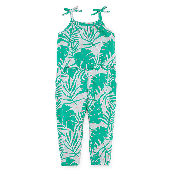Okie Dokie Girls Embroidered Jumpsuit Baby