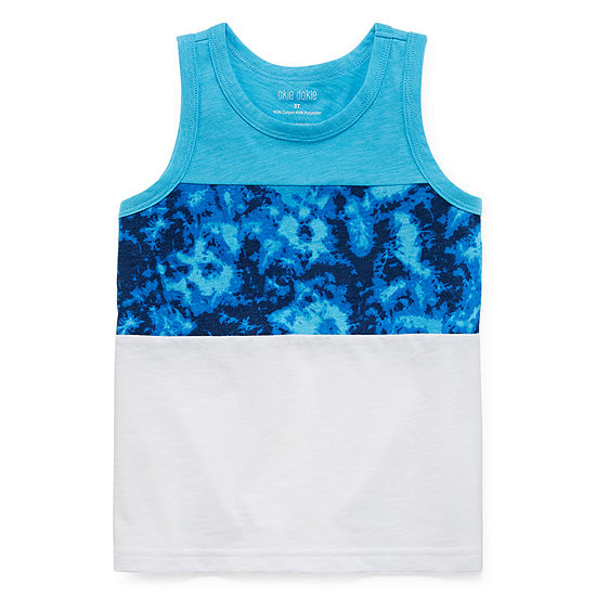 Okie Dokie Boys Round Neck Tank Top Toddler