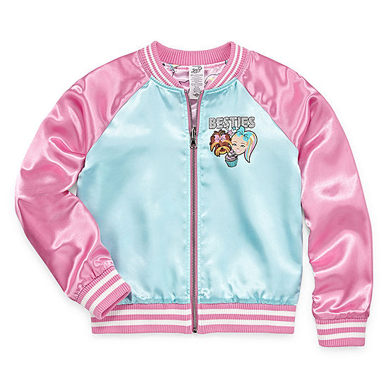 82dcdb057fa5 Jojo Siwa Girls Lightweight Bomber Jacket Preschool   Big Kid - JCPenney