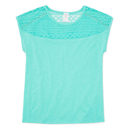 Arizona Girls Round Neck Short Sleeve T-Shirt