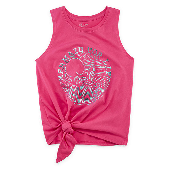 Arizona Girls Round Neck Tank Top