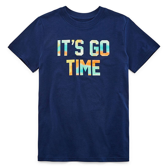 Xersion Boys Crew Neck Short Sleeve Graphic T Shirt Preschool Big Kid