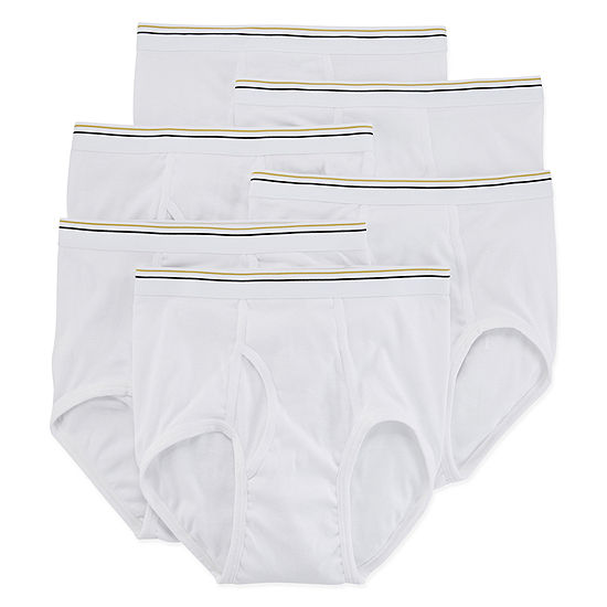 Stafford® 6-pk. Cotton Full-Cut Briefs–Big & Tall