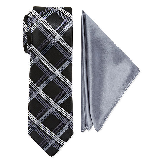 Us Polo Assn Us Polo Assn Plaid Tie Set