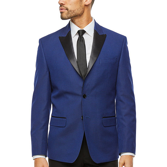 Collection By Michael Strahan Blue Print Classic Fit Sport Coat