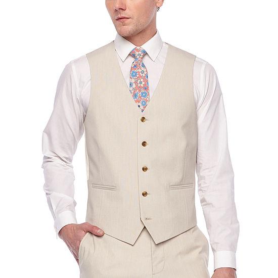 Jf Jferrar Slim Fit Stretch Suit Vest