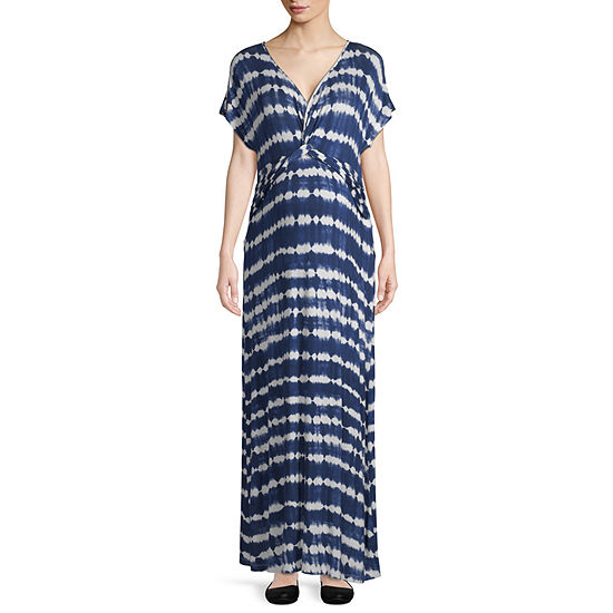 Artisan Twist Front Maxi Dress Maternity