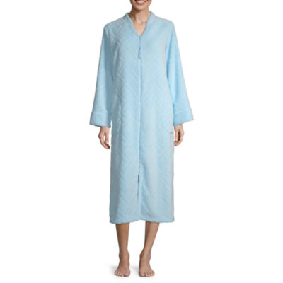 Collette By Miss Elaine Womens Long Sleeve Nightgown
