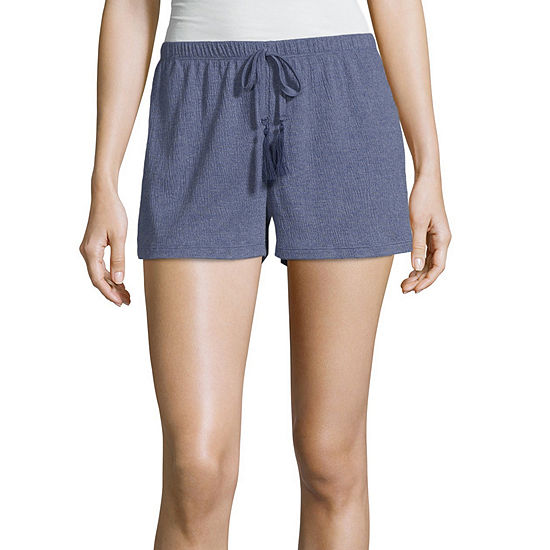 Laura Ashley Womens Knit Pajama Shorts
