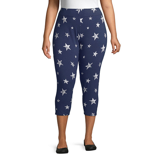 Mixit Americana Womens Legging - Plus