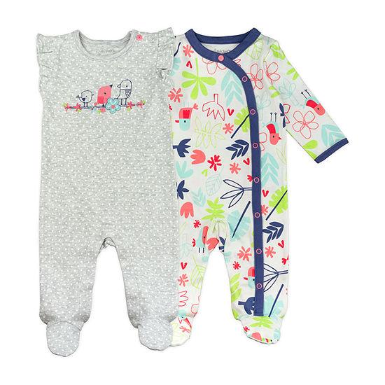 Mac And Moon 2 Pack Sleep and Play - Baby Girls