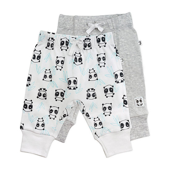 Mac And Moon 2 Pack Unisex Pull-On Pants - Baby